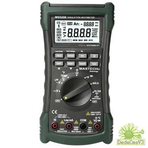 MS5208绝缘电阻表 数字兆欧表价格 MS5208兆欧表