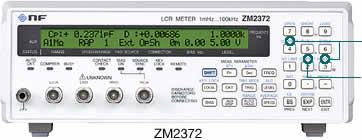 ZM2372高精度LCR测试仪|日本NF/ZM2372数字电桥