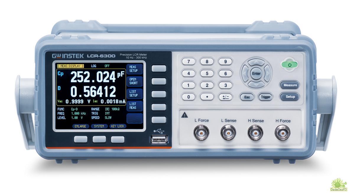 LCR 测试仪(数字电桥)>LCR-6002: 10Hz~  2kHz(±0.01%)